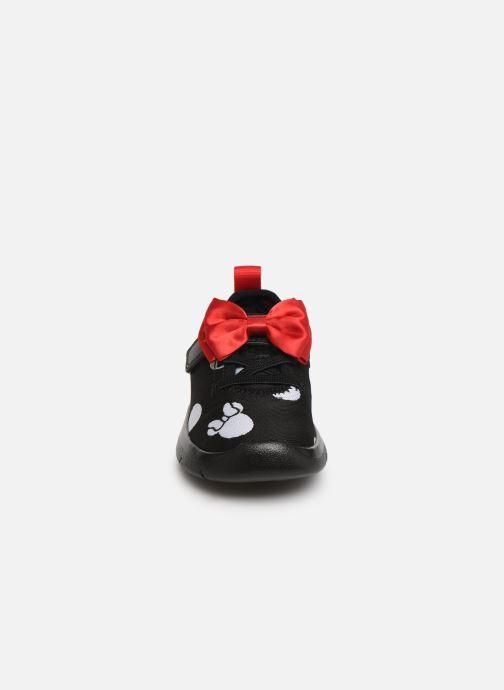 Baskets Clarks Ath Bow x Minnie Noir vue portées chaussures