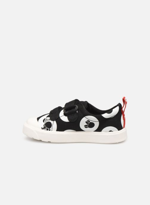 Sneakers Clarks City PolkaLo x Minnie Nero immagine frontale