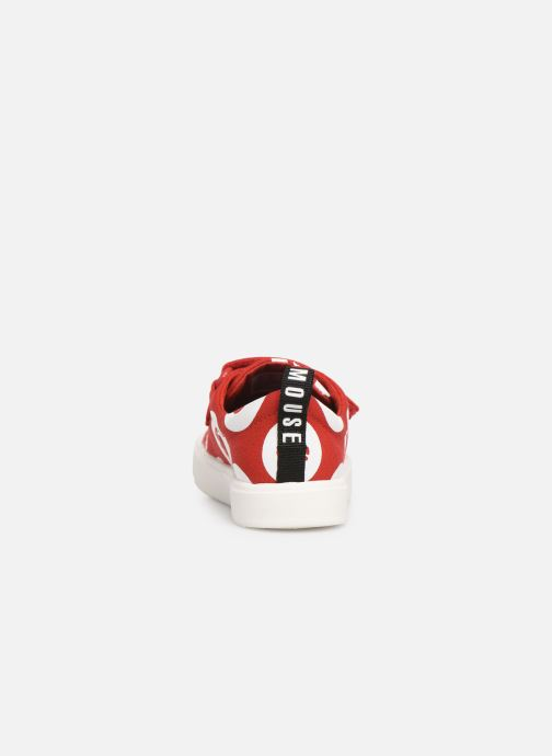 Trainers Clarks City PolkaLo x Minnie Red view from the right