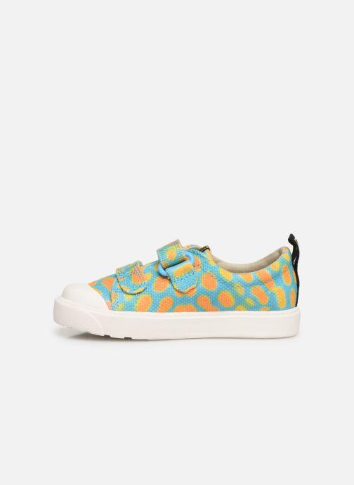 Sneakers Clarks City Geo Multicolor voorkant