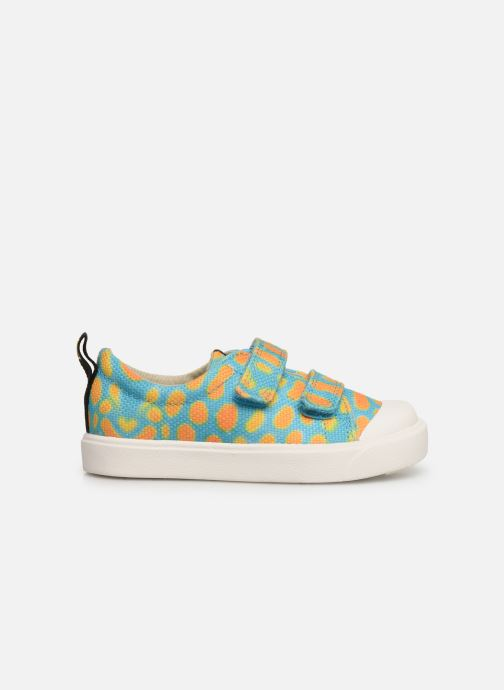 Sneakers Clarks City Geo Multicolor achterkant