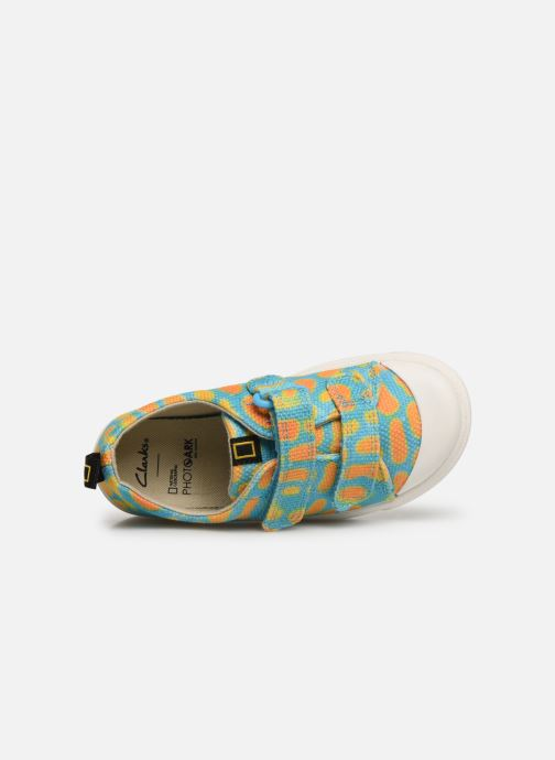 Baskets Clarks City Geo Multicolore vue gauche