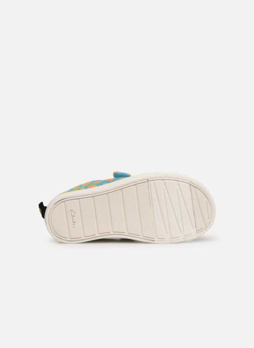 Baskets Clarks City Geo Multicolore vue haut
