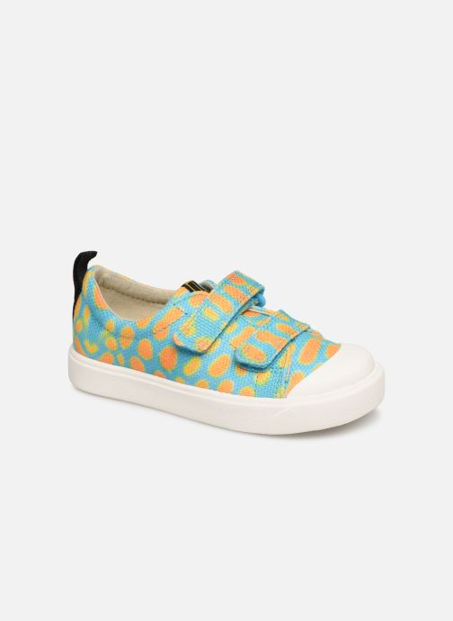 Baskets Clarks City Geo Multicolore vue détail/paire