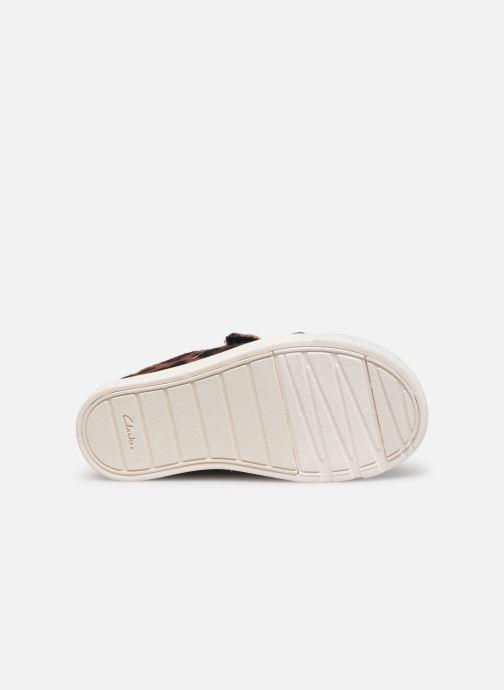 Sneakers Clarks City Geo Bruin boven
