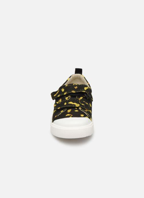 Sneakers Clarks City Geo Zwart model