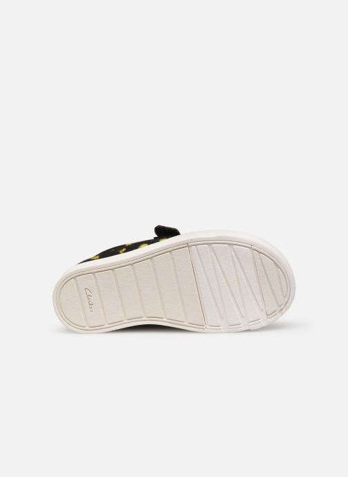Sneakers Clarks City Geo Zwart boven