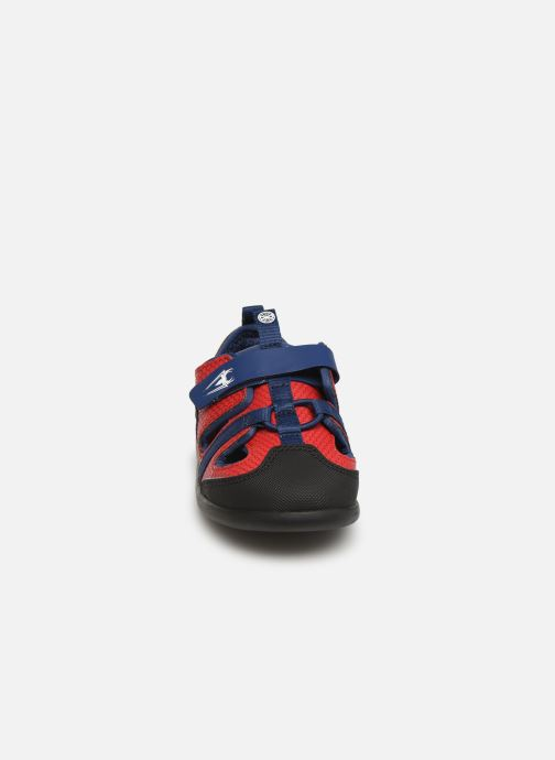 Baskets Clarks Play x Spider-Man Rouge vue portées chaussures