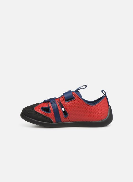 Baskets Clarks Play x Spider-Man Rouge vue face