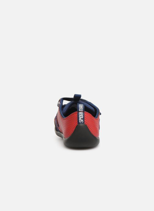 Trainers Clarks Play x Spider-Man Red view from the right