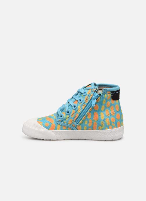 Sneakers Clarks Cyrus Geo Blauw voorkant