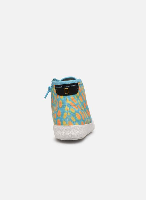 Sneakers Clarks Cyrus Geo Blauw rechts