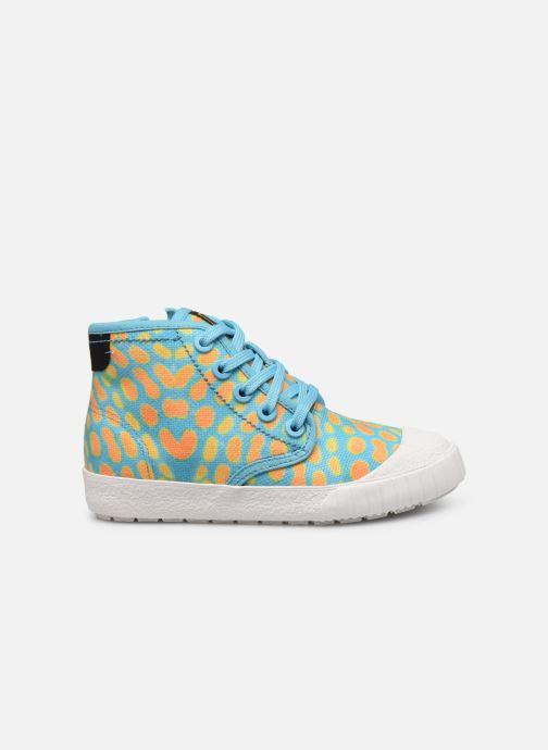 Sneakers Clarks Cyrus Geo Blauw achterkant