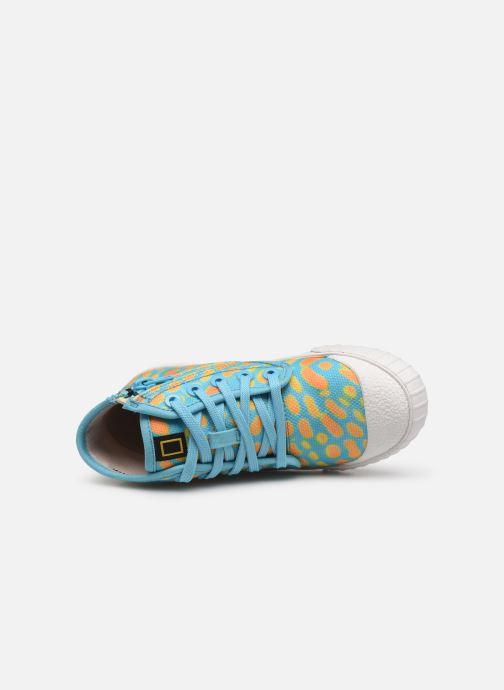 Sneakers Clarks Cyrus Geo Blauw links