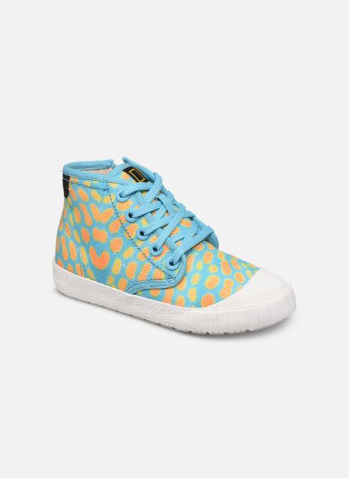 Sneakers Clarks Cyrus Geo Blauw detail