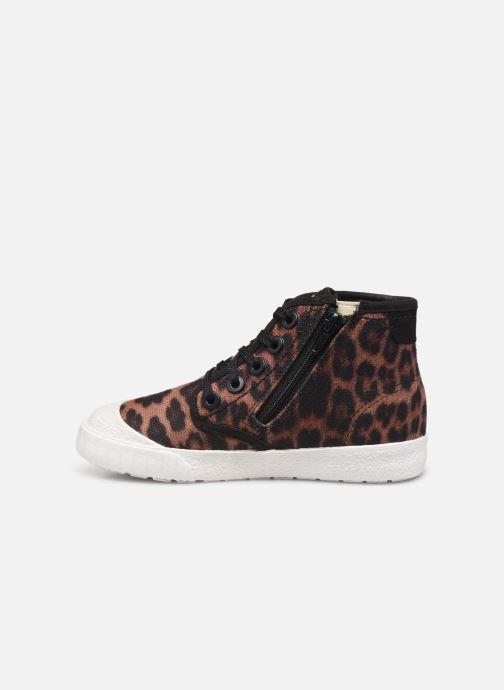 Sneakers Clarks Cyrus Geo Marrone immagine frontale