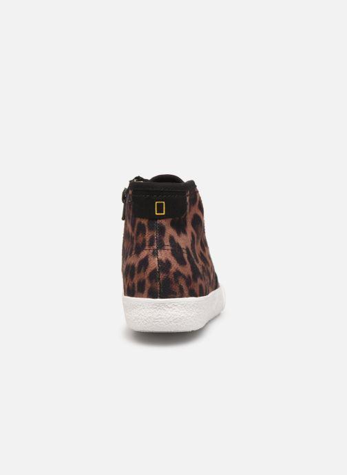 Sneakers Clarks Cyrus Geo Marrone immagine destra