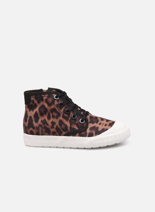 Sneakers Clarks Cyrus Geo Bruin achterkant