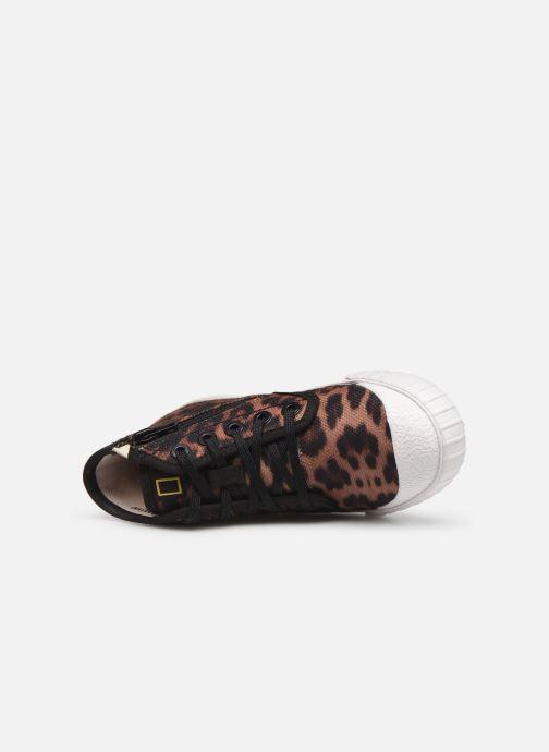 Sneakers Clarks Cyrus Geo Marrone immagine sinistra