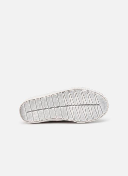 Sneakers Clarks Cyrus Geo Marrone immagine dall'alto