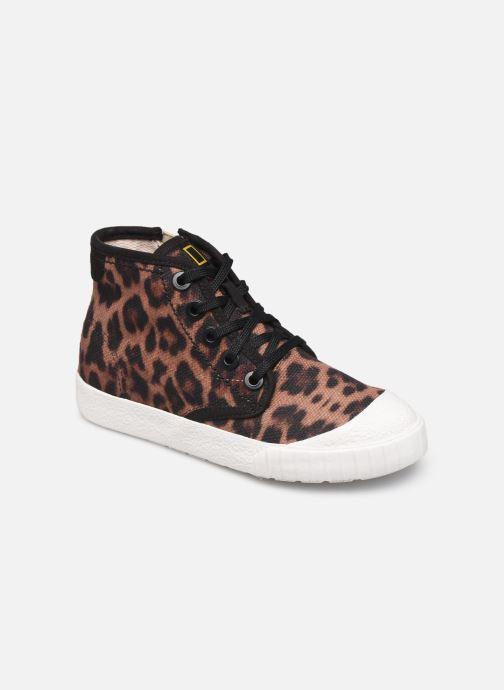 Sneakers Clarks Cyrus Geo Bruin detail