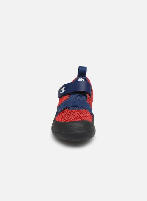 Baskets Clarks Play Web x Spider-Man Rouge vue portées chaussures
