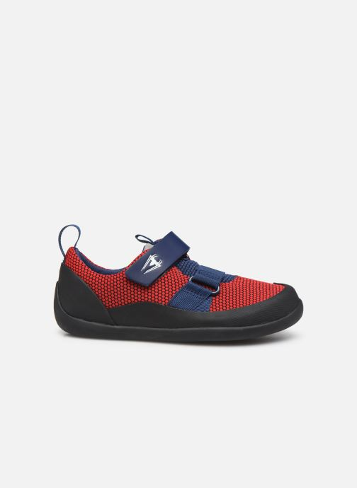 Sneakers Clarks Play Web x Spider-Man Rood achterkant