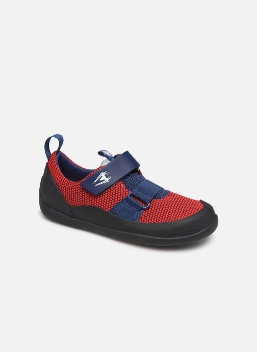 Sneakers Clarks Play Web x Spider-Man Rood detail