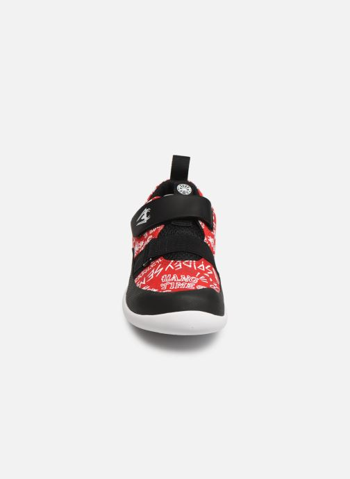 Trainers Clarks Play Web x Spider-Man Red model view