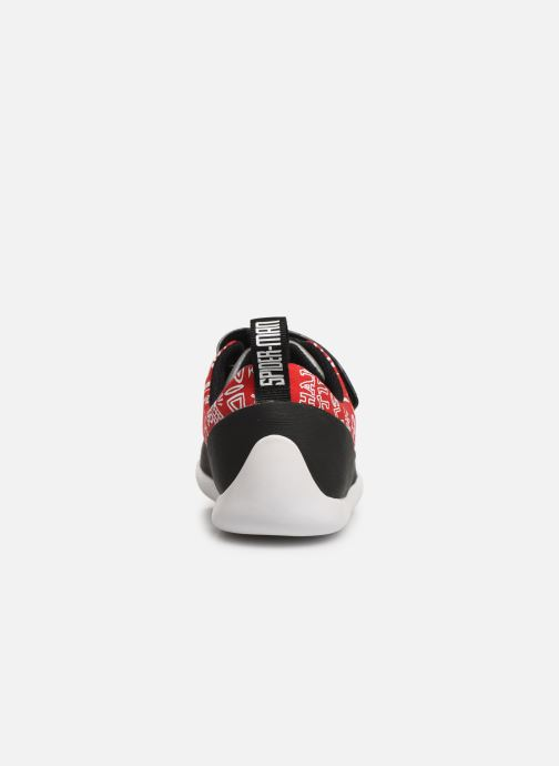 Trainers Clarks Play Web x Spider-Man Red view from the right