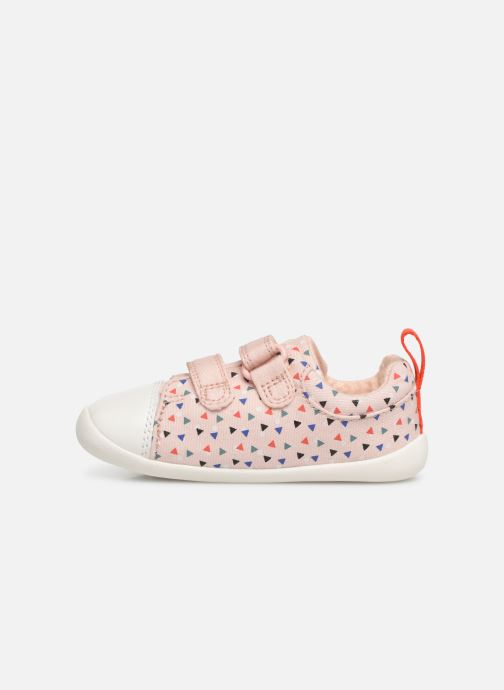 Trainers Clarks Roamer Craft Pink front view