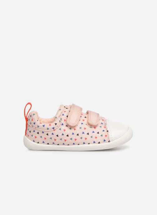 Trainers Clarks Roamer Craft Pink back view
