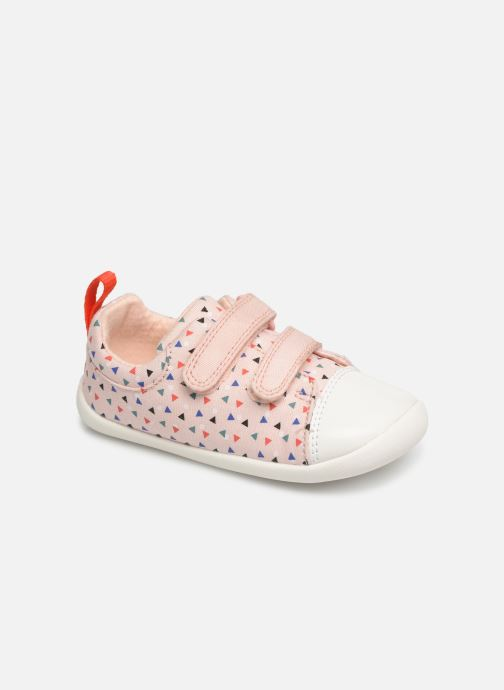 Trainers Clarks Roamer Craft Pink detailed view/ Pair view