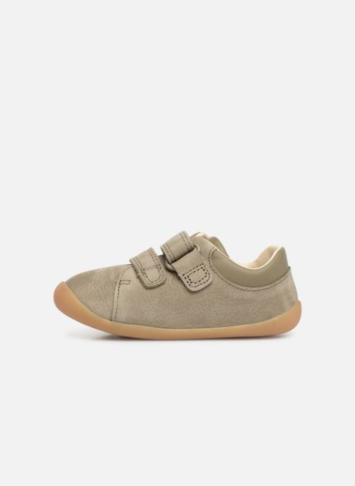 Trainers Clarks Roamer Craft Green front view