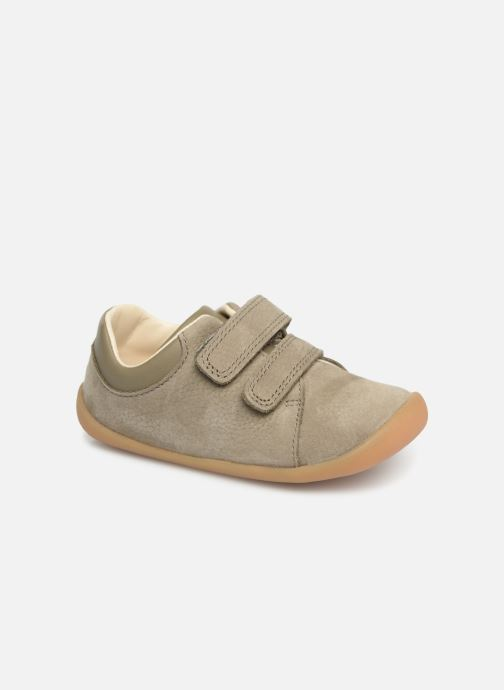 Trainers Clarks Roamer Craft Green detailed view/ Pair view