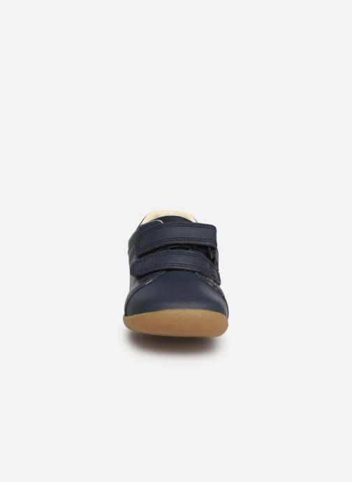 Sneakers Clarks Roamer Craft Azzurro modello indossato
