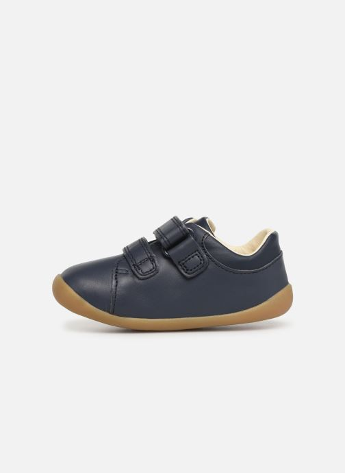 Trainers Clarks Roamer Craft Blue front view