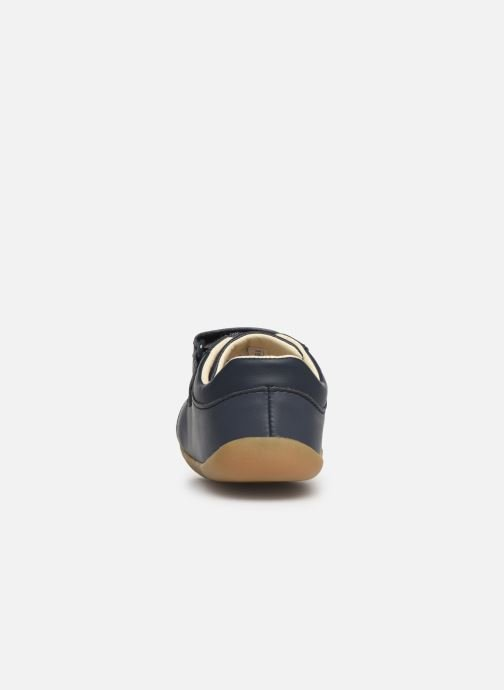 Trainers Clarks Roamer Craft Blue view from the right