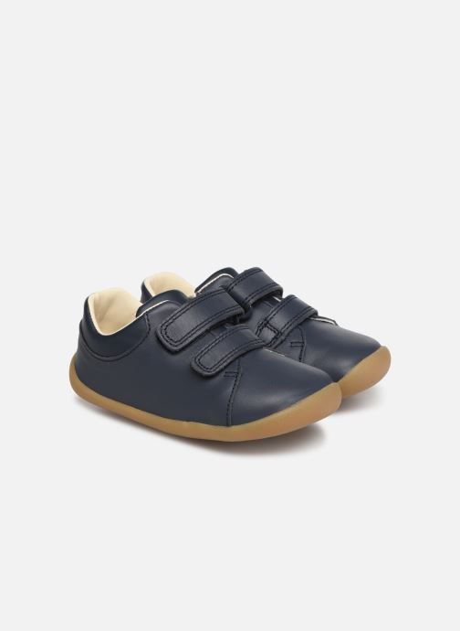 Trainers Clarks Roamer Craft Blue detailed view/ Pair view