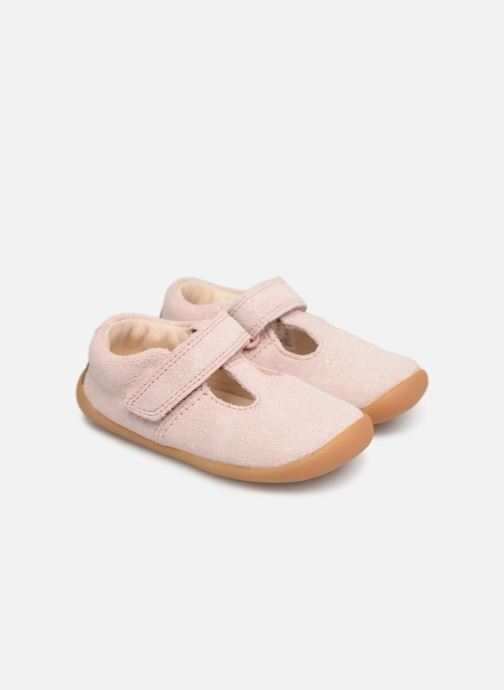 Ballet pumps Clarks Roamer Go Pink detailed view/ Pair view