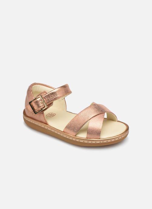 Sandales et nu-pieds Clarks Skylark Pure T Or et bronze vue détail/paire