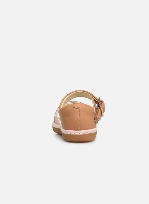 Sandales et nu-pieds Clarks Skylark Pure T Beige vue droite