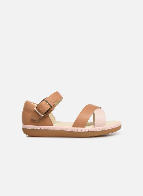 Sandales et nu-pieds Clarks Skylark Pure T Beige vue derrière