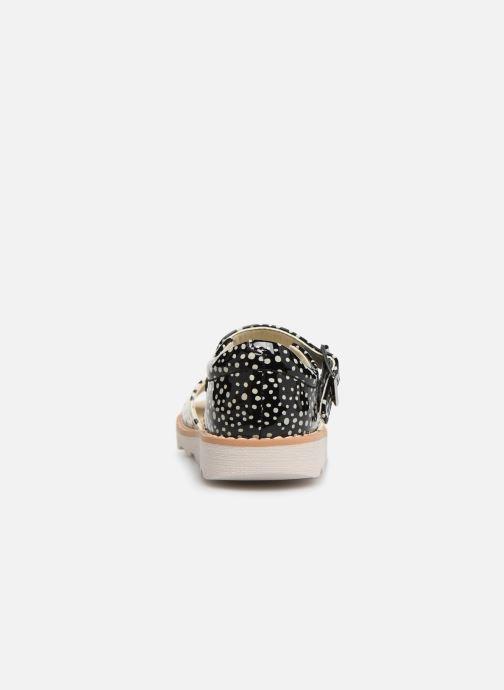 Sandales et nu-pieds Clarks Crown Bloom T Noir vue droite