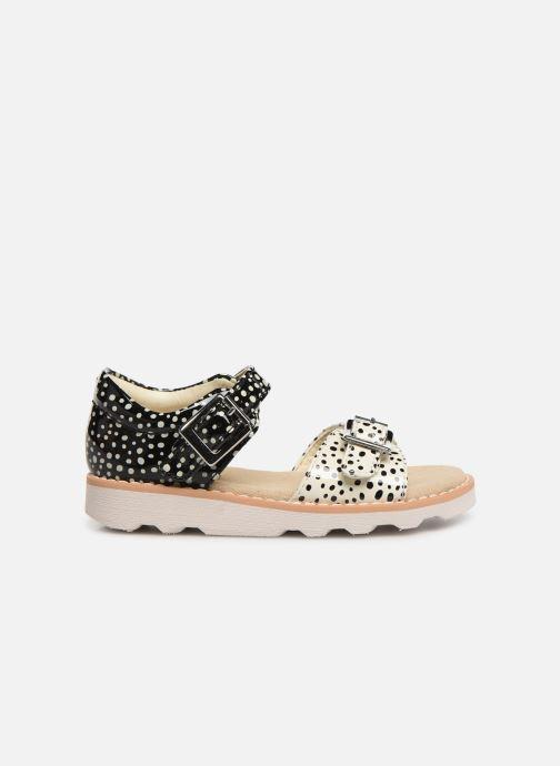 Sandales et nu-pieds Clarks Crown Bloom T Noir vue derrière