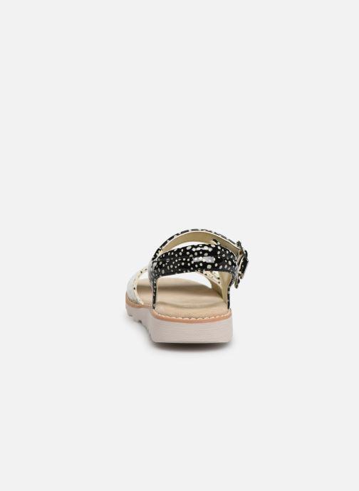 Sandales et nu-pieds Clarks Crown Bloom K Noir vue droite