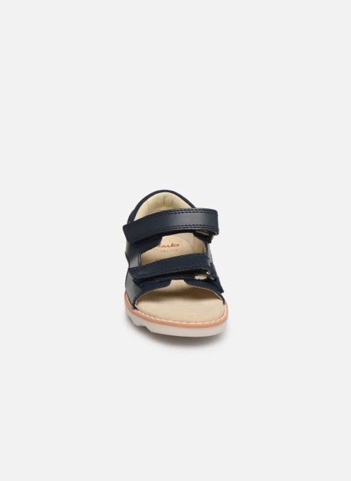 Sandaler Clarks Crown Root T Blå se skoene på