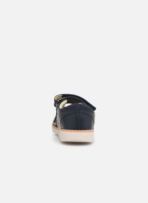 Sandaler Clarks Crown Root T Blå Se fra højre
