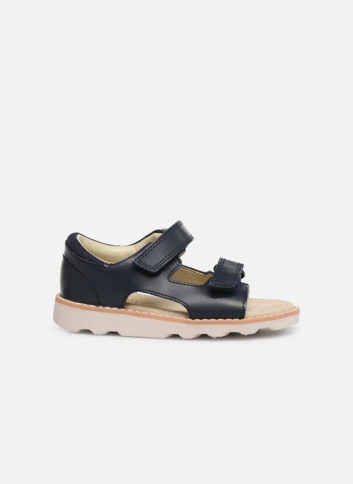 Sandales et nu-pieds Clarks Crown Root T Bleu vue derrière