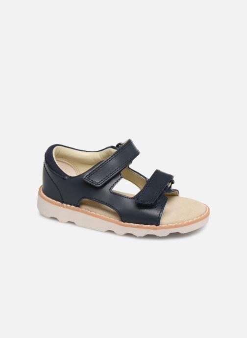 Sandales et nu-pieds Clarks Crown Root T Bleu vue détail/paire